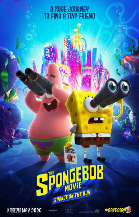 Poster oficial de la película The Sponge Bob Movie Sponge On The Run