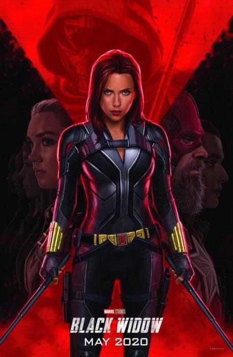 Poster oficial de la película Black Widow para 2020
