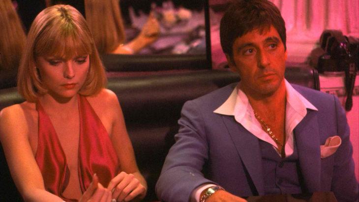 Estrenos de Netflix en diciembre, película Scarface, Al Pacino, Michelle Pfeiffer, Tony Montana, Elvira Hancock
