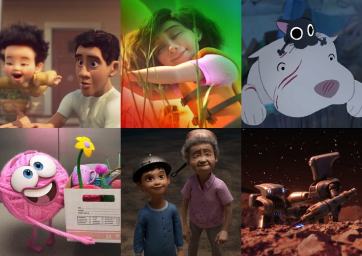 Cortometrajes de Disney-Pixar; Float, Purl, Kitbull, Smash and Grab, Wind, Loop