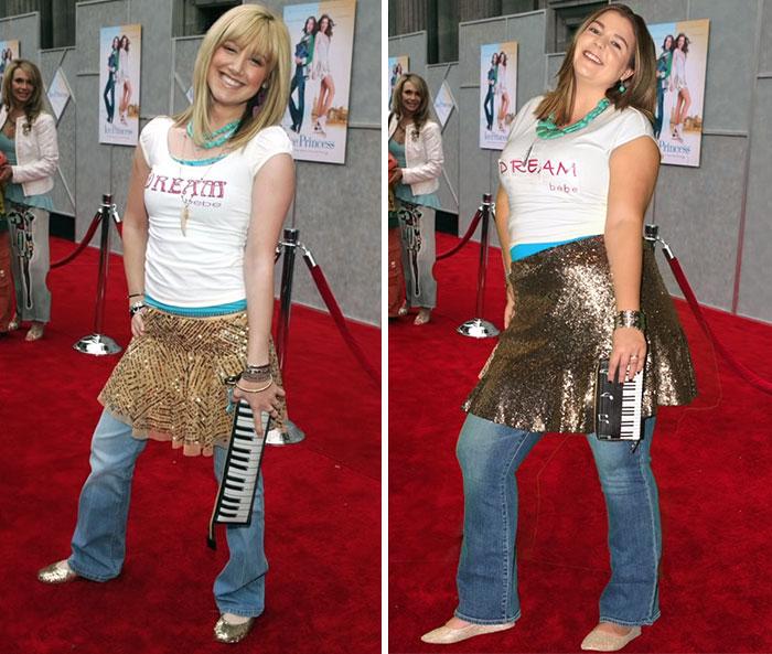 Sierra Schultzzie como Ashley Tisdale