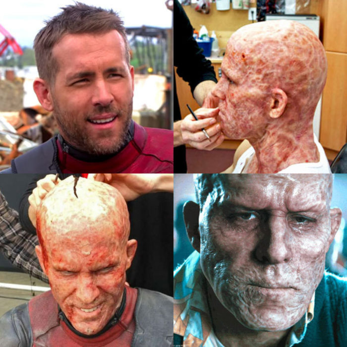 Transformaciones de actores para el cine; Ryan Reynolds, Deadpool
