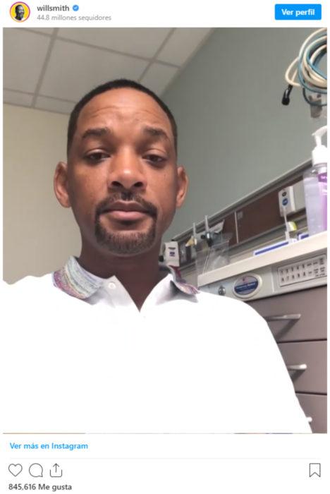 Will Smith fue hospitalizado