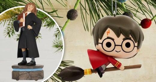 Adornos inspirados en 'Harry Potter' para una mágica Navidad