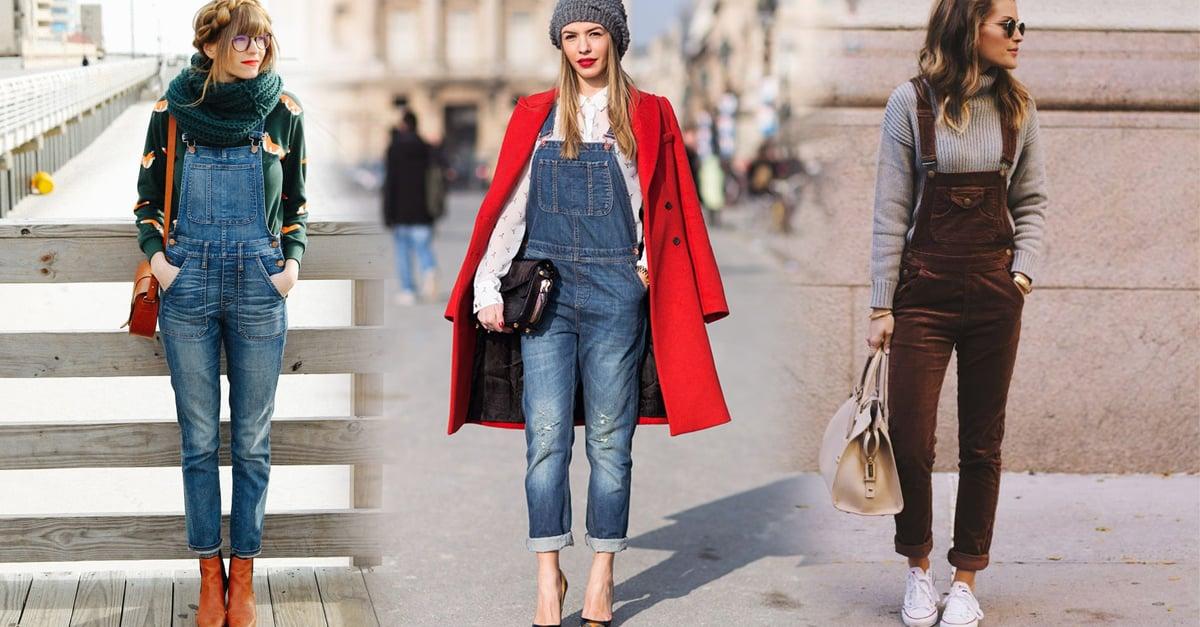 15 Maneras para seguir usando tu overol en los días de invierno