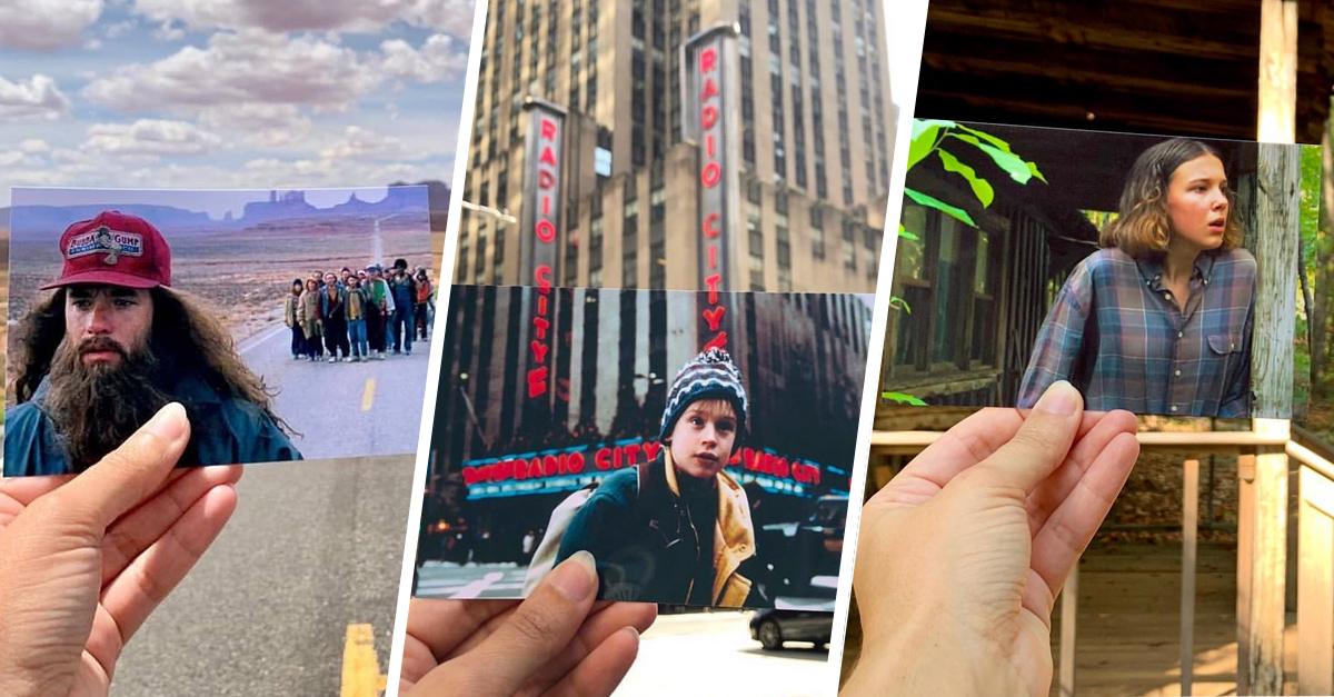 'Instagramer' viaja por el mundo en busca de famosas locaciones de películas y series