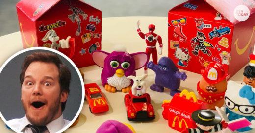 Los juguetes de los 90 regresarán a la Cajita Feliz de McDonald's