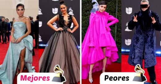 Estos fueron los mejores y peores vestidos de los premios Latin Grammy