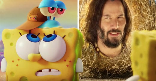 Bob Esponja regresa con una nueva película y Keanu Reeves aparece en ella