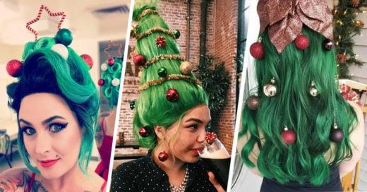 13 Graciosos peinados para una Navidad con estilo