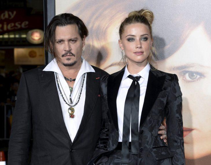 Johnny Depp y Amber Hearden la premier de la película la chica danessa
