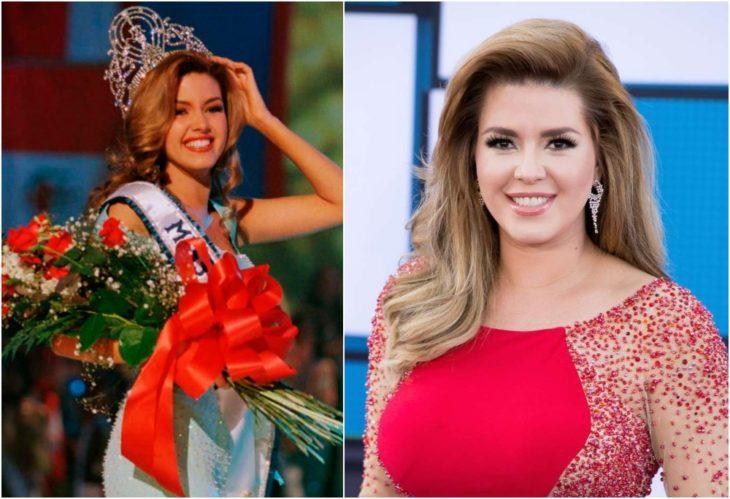 Alicia Machado Miss Universo antes y ahora