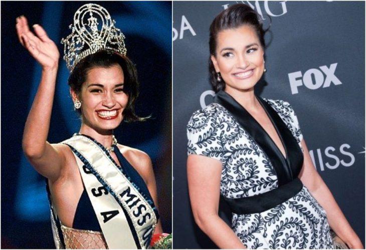 Brook Lee Miss Universo antes y ahora