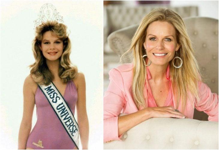Lorraine Downes Miss Universo antes y ahora