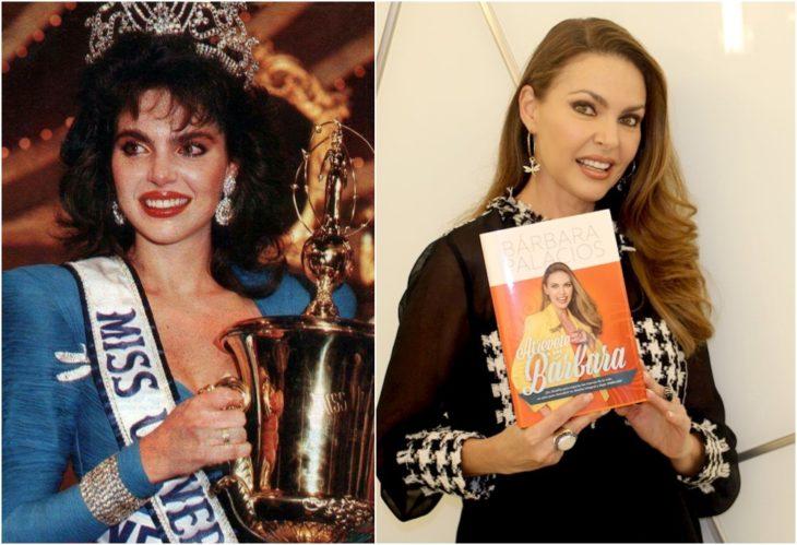 Bárbara Palacios Teyde Miss Universo antes y ahora