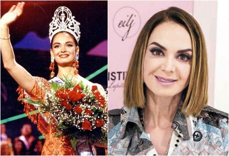 Lupita Jones Miss Universo antes y ahora