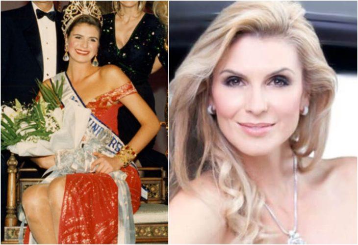 Michelle McLean Miss Universo antes y ahora