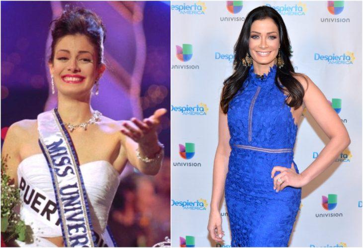 Dayanara Torres Miss Universo antes y ahora