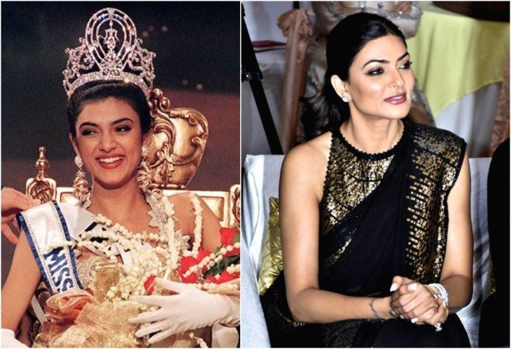 Sushmita Sen Miss Universo antes y ahora