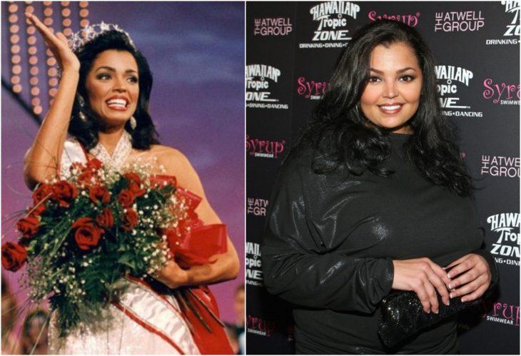 ahí lo program Miss Universo antes y ahora