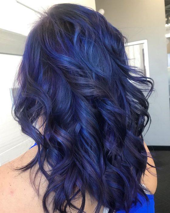 Tinte tono blueberry