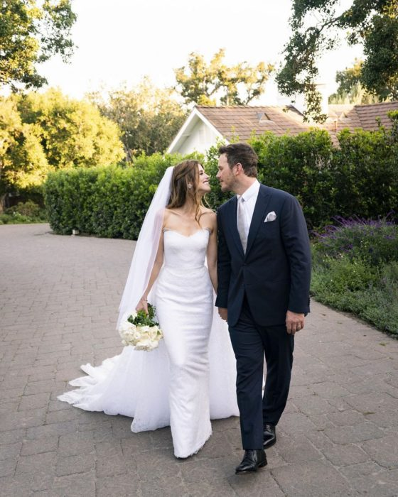 Boda de Chris Pratt y Katherine Schwarzenegger en la casa de los papás de la novia