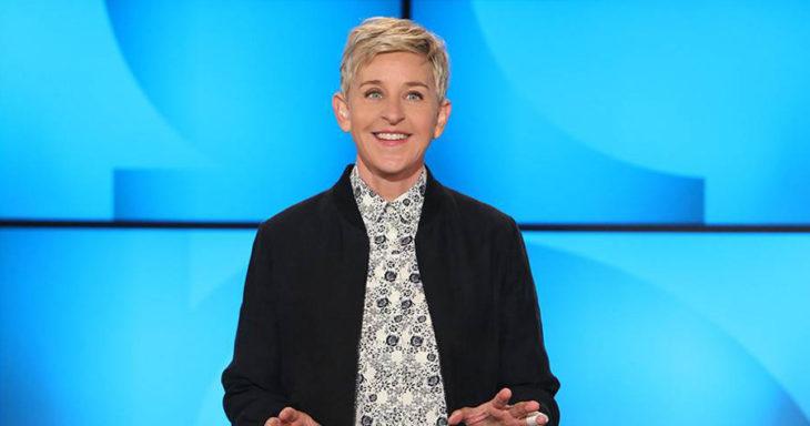 Ellen DeGeneres en el show de Ellen DeGeneres