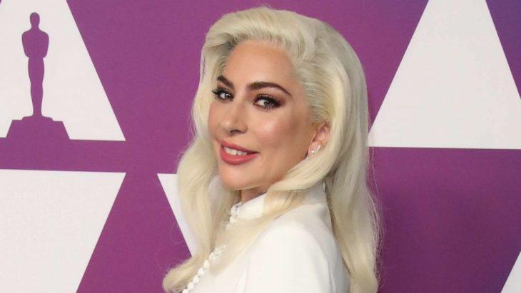 Lady Gaga durante la entrega de premios Emmy