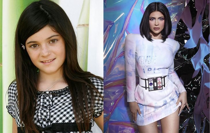 Comparación de Kylie Jenner en el primer episodio de la serie vs actualmente