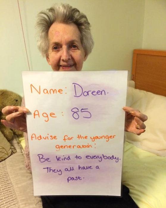 Consejos de vida de viejitos a personas jóvenes