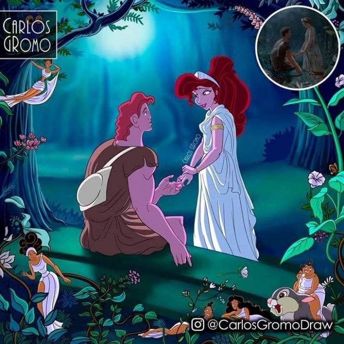 Dibujos de Carlos Gromo, Disney, Hercules