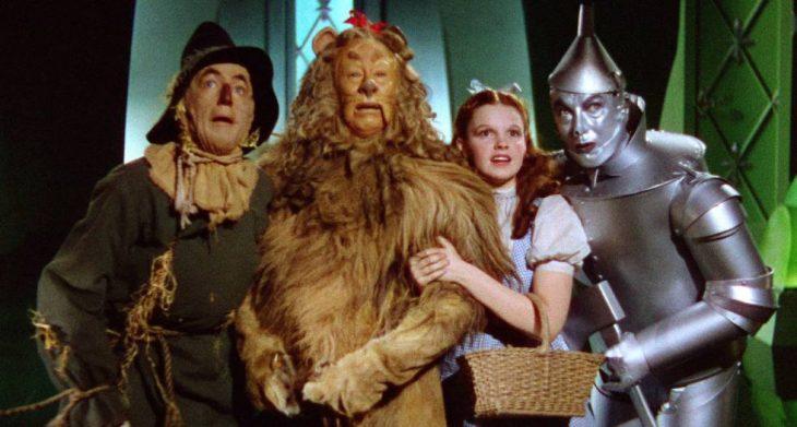 Escena de la película El mago de Oz