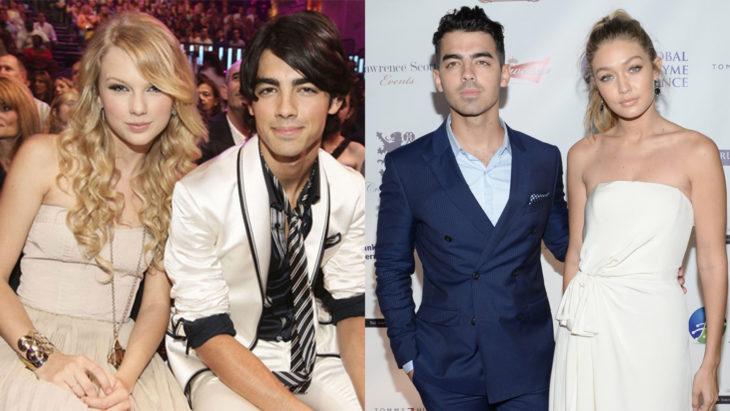 Joe Jonas saliendo con gigi hadid y con Taylor Swift