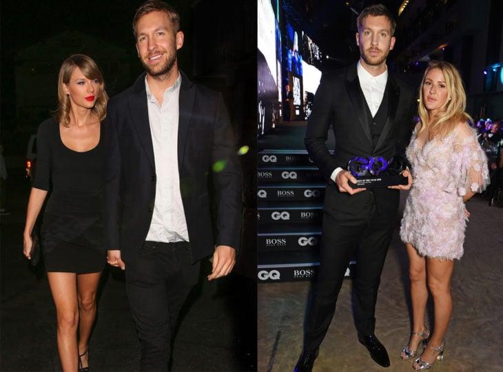 Taylor Swift namoro Calvin Harrys e Ellie Goldwing namoro Calvin Harris