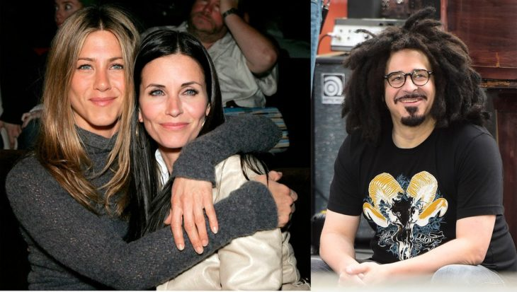 Jennifer Aniston, Courteney Cox y Adam Duritz