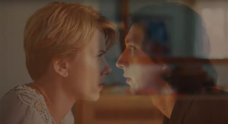 Scarlett Johansson y Adam Drive en Historia de un matrimonio