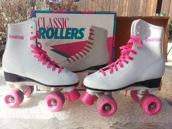 Patines de cuatro ruedas llamados classic rollers