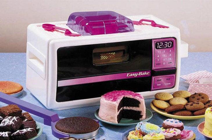 Micro hornito que hace pasteles