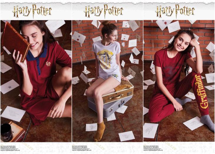 pijamas de la línea de ropa de Oporto inspirada en Harry Potter