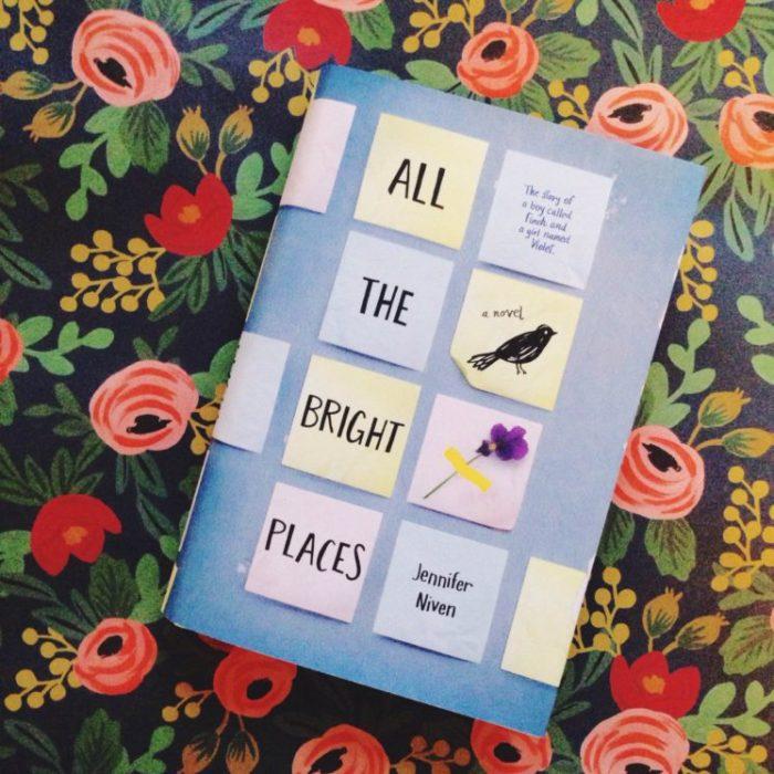 portada del libro All The Bright Places