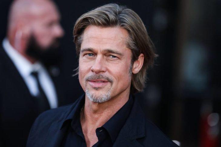 Brad Pitt en una alfombra roja