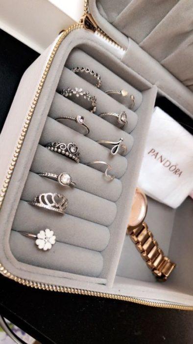 Set de joyería de pandora