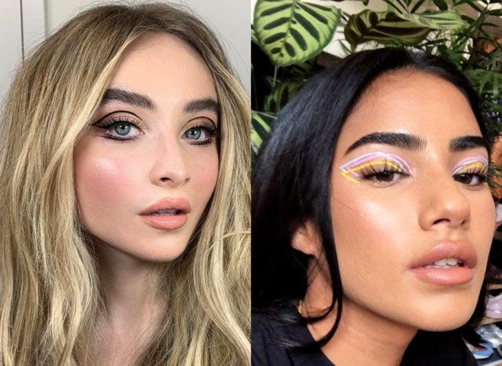 Maquillaje que será tendencia en 2020 según Pinterest; delineados flotante