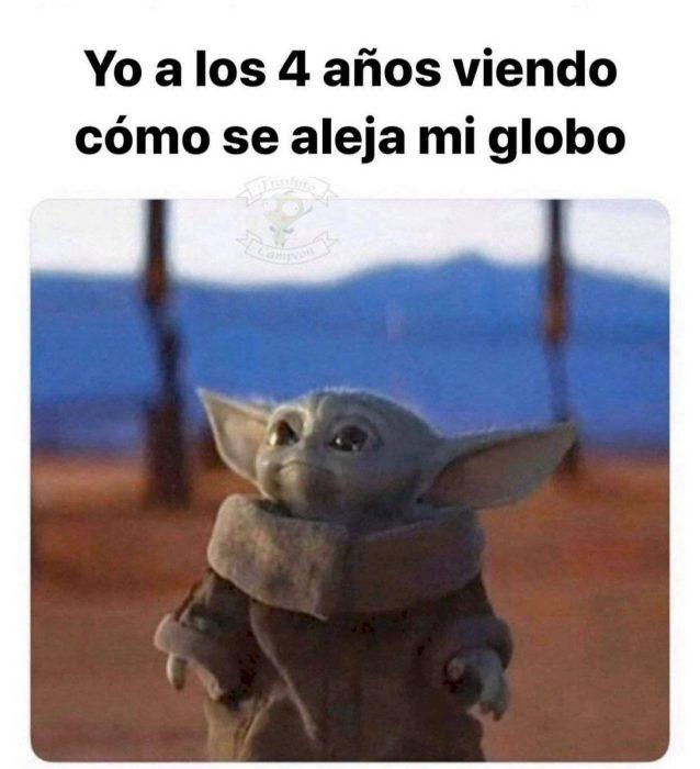 Meme de Baby Yoda