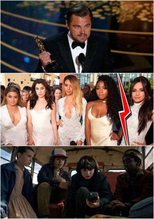 Leonardo DiCaprio gana su primer premio óscar