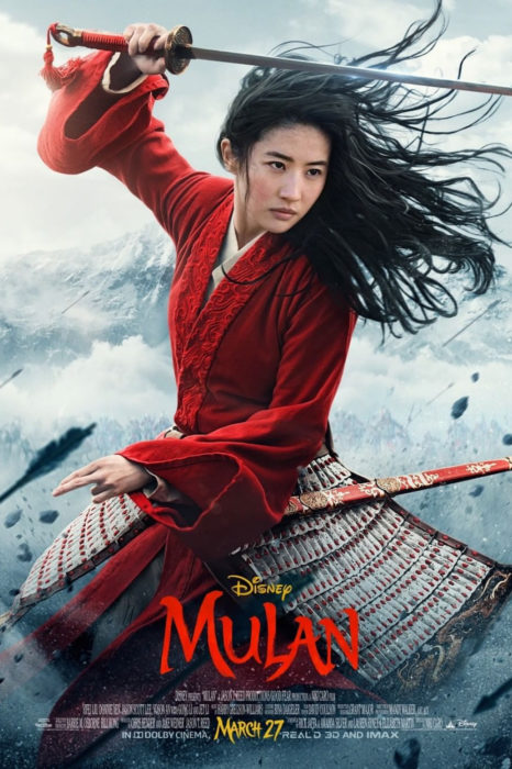 Tráiler de Mulán, live action de Disney, póster