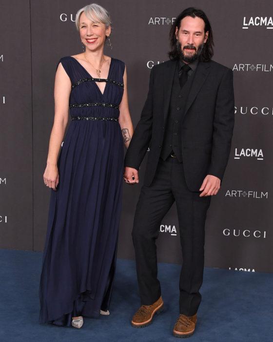 Parejas de celebridades que se formaron en el 2019; Keanu Reeves y Alexandra Grant
