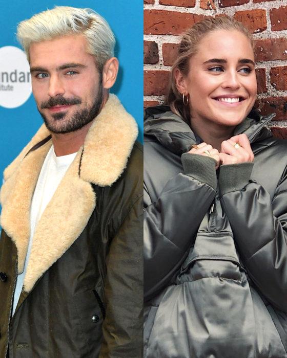 Parejas de celebridades que se formaron en el 2019; Zac Efron y Sarah Bro