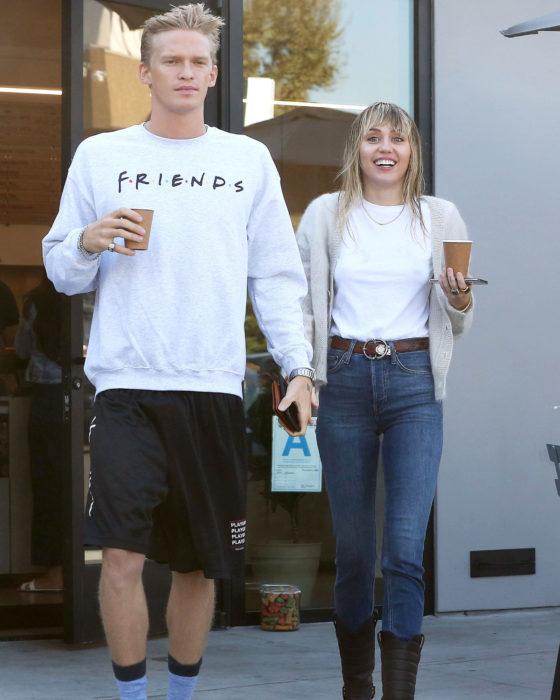 Parejas de celebridades que se formaron en el 2019; Miley Cyrus y Cody Simpson