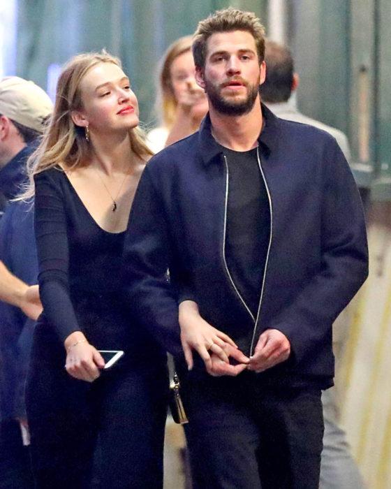 Parejas de celebridades que se formaron en el 2019; Liam Hemsworth y Maddison Brown